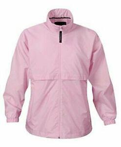Stormtech Women's Stormtech Golf Water Resistant Packable Rain Jacket Pink