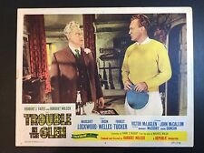 """Orson Welles 11 x 14  """"TROUBLE IN THE GLEN"""" 1954 LOBBY CARD MOVIE THEATER PROMO"""