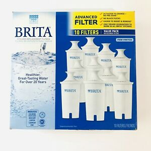 Brita Pitcher Replacement Filters 10 PK Healthier Great Tasting Water Value Pack
