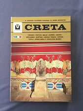 CRETA -  Guida Turistica  completa illustrazioni colore 192 pag. Nanno Marinatos