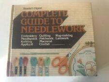 New listing Readers Digest: Complete Guide To Needlework veg 1979 Hc