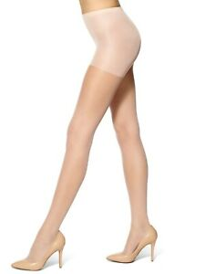 H29 HUE Nude Blush Run Resistance Sheer Control Top Pantyhose - Size 5