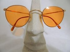 Vintage sunglasses 60's Optical Affairs 8000 Pantos Gold color Made in France