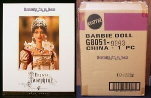 """Empress Josephine Barbie Doll Women of Royalty Series Gold Label ~ SHIPPER EXC"""""""