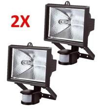 2x 500W/150W  PIR Motion Sensor Outdoor Security Light Halogen GARDEN Floodlight
