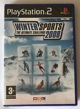 PS2 Winter Sports 2008, UK Pal, Brand New & Factory Sealed