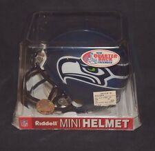 Seattle Seahawks Riddell Mini Football Helmet Quarterback Facemask