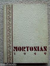 1949 J. S. MORTON HIGH SCHOOL  YEAR BOOK, CICERO, ILLINOIS