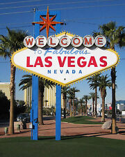 Welcome To Las Vegas Sign, Las Vegas Strip 8 x 10 Photo