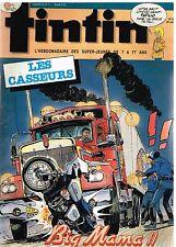 B19- Tintin N°472 Les Casseurs,papilio