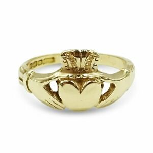 Gold Claddagh Ring Pre-owned 9ct