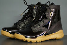 NIKE SFB 6 SP SPECIAL Field Boots EU 42.5 UK 8 BLACK brevetto GUM inverno 729488-009