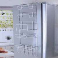 Refrigerator Rack Holder Multifunctional Kitchen Supplies Organizer Household
