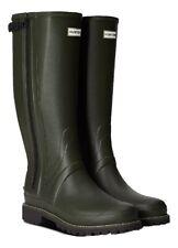 SALE New Mens Full Zip Balmoral Classic Hunter Wellington Boots Green Size 9