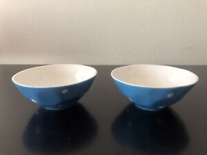 Maxwell And Williams Sprinkle Sky And Orange Ice Cream Bowls