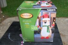 REINDEER  7 FT CHRISTMAS AIRBLOWN INFLATABLE OUTDOOR YARD DECOR NIB