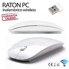 Ratón 00RATONWIRE01 Inalambrico para PC sin Cables - Blanco