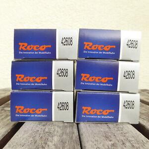 Roco 42608 H0 IN Set 6 X Buffers Kits, neuwertig, Unused Boxed