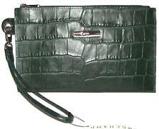 LONGCHAMP Fir Leather Zip Clutch Wristlet  NWT