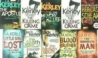 Jack Kerley Book Signed Lot Mystery 10 Paperback Carson Ryder Thriller J.A. UK