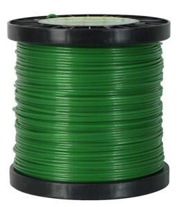 Fil rond pour débroussailleuse 3 mm x 120 m en bobine (nylon haute densité)