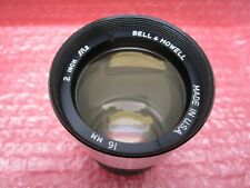 """BELL & HOWELL PROJECTION LENS PROJECTION 16MM 2"""" F/1.2 MADE IN USA"""
