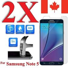 Premium Screen Protector Cover for Samsung Galaxy Note 5 (2 Pack)