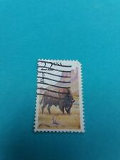 Bison Issue Stamp 1987 Single 2320 used#