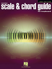 MASTER SCALE & CHORD GUIDE FOR KEYBOARD MUSIC BOOK-BRAND NEW ON SALE-2ND EDITION