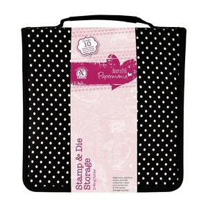 DOCRAFTS PAPERMANIA STAMP AND CUTTING DIE STORAGE D-RING FOLDER - NEW 24X24cm
