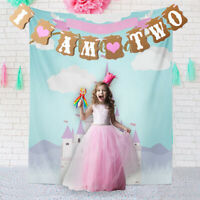 FP- FP- KF_ I AM TWO 2ND BOY GIRL BIRTHDAY PARTY GARLAND BANNER BUNTING BABY SHO