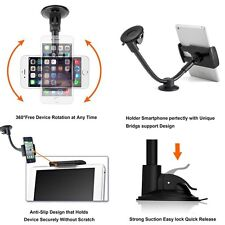 Car Phone Tablet Support Mount Holder Windshield Dashboard 5'' 7'' for iPhone