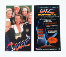 James Bond  in The World Is Not Enough  Full Base set of  72 Trading Cards