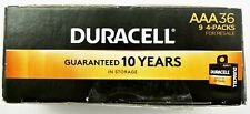 Duracell Coppertop Alkaline Aaa Batteries 36 Pack Best Use Date March 2029 New