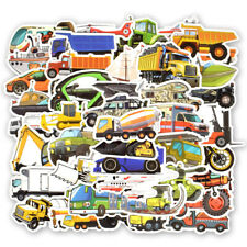 50pcs Boys Stickers Cars Trucks Aircraft Kids Party Decor Stickers 2019 Hot