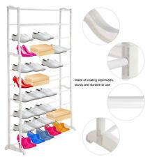 Schuhregal 10 Ebenen Schuhschrank Schuhablage Schuhständer 50 Paar Schuhe Regal
