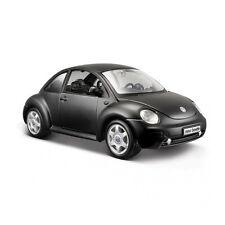Maisto 31975 VW NEW BEETLE Mate Negro - Black Series Escala 1:24 NUEVO !°