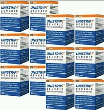 UniStrip Glucose Test Strips 12 x 50 Compatable with All Oneotuch Ultra Meter