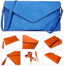 Blue Clutch Bag Large Wedding Purse Oversized Envelope Evening Bridal Prom Bag