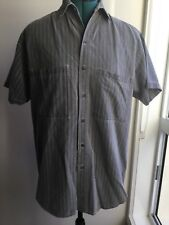 Vintage C&A's Men's Strand Clothing Company Casual Grey Shirt Size M