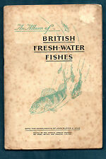 BRITISH FRESH-WATER FISHES   -   BOOKLET WITH ALL 50 CARDS... NICE