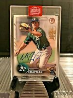2019 topps Archives Signature Series ~ MATT CHAPMAN (RC+AUTO) ~ SEALED! / #52/59