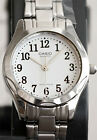 Casio LTP-1275D-7B Ladies Analog Watch Stainless Steel White Casual Dress New