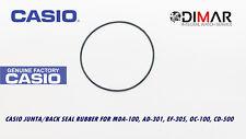CASIO JUNTA/ BACK SEAL RUBBER, PARA . MDA-100, AD-301, EF-305, OC-100, OC-500