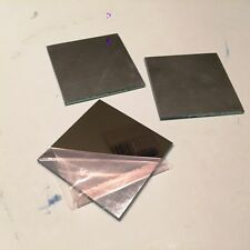 "Laser Optics,  2"" X 2""  First Surface, Mirror Only, One Lot of 3"
