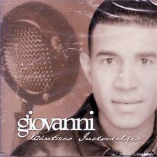 CD CANTICOS INOLVIDABLES Musica Cristiana con Giovanni en Bachata y Bolero