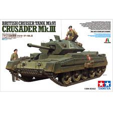 Tamiya 37025 British Cruiser Tank Mk.VI Crusader Mk.III 1/35
