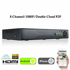 New XVR 8CH Channel CCTV Video Recorder 1080P Hybrid NVR AHD TVI CVI DVR 5-in-1