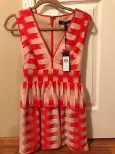 Bcbg maxazria size 0 peplum dress