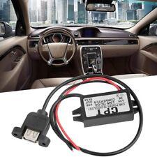 DC Converter Regulator 12V to 5V 3A 15W USB Car Power Supply Module HW